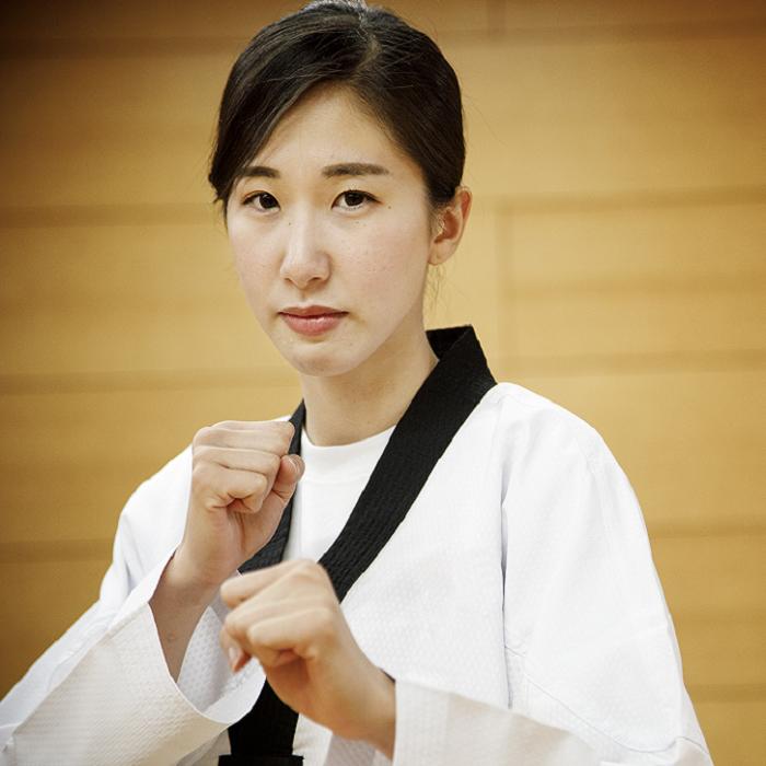 テコンドーの女神・山田美諭の得意技は瞬足キックの連続技!