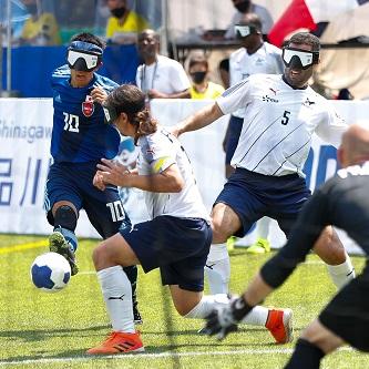 「見えない闘い」ブラインドサッカーワールドグランプリ2021開幕