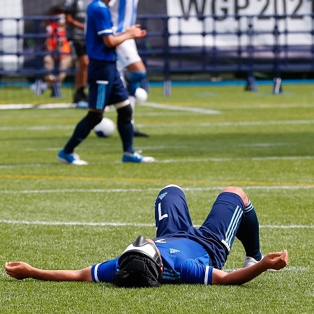 「見えたか」メダルへの道筋 ブラインドサッカー日本代表準優勝