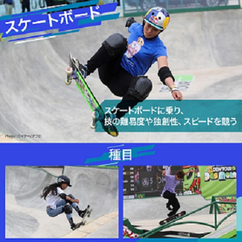 【図解】東京2020オリンピックの新競技・スケートボードのルールと見どころ