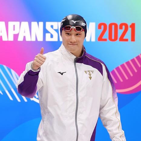 急成長を続ける若きスイマー・佐藤翔馬 北島康介の背中を追い、競泳・平泳ぎで金メダル獲得へ!