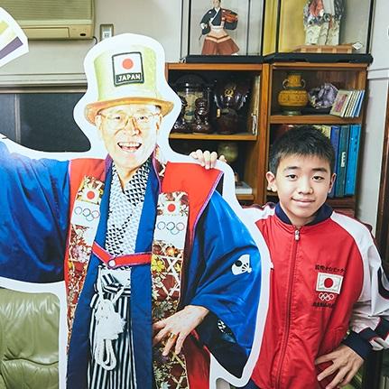 オリンピックおじさんの意志を受け継ぐ13歳。「応援と出場」を目指す五輪への想い