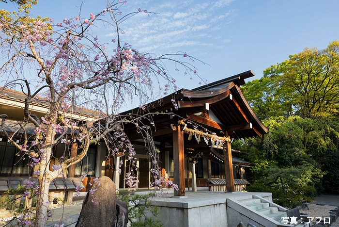 「草薙神剣」が祀られている熱田神宮
