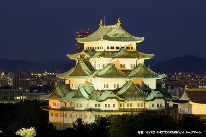 愛知県聖火リレー1日目のゴールは名古屋城