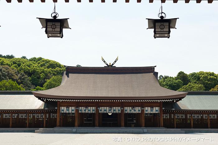 橿原神宮 内拝殿