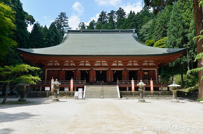 比叡山延暦寺 西塔 釈迦堂