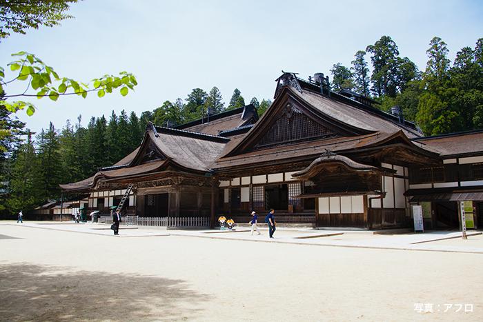 弘法大師が開創した金剛峯寺
