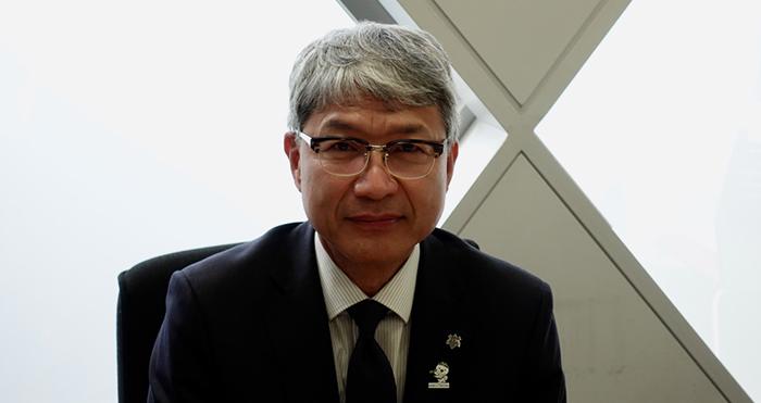 自身もスポーツ愛好家だと語る 和歌山県教育委員会 宮崎 泉教育長