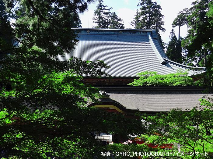 「不滅の法灯」が燃える比叡山延暦寺の根本中堂
