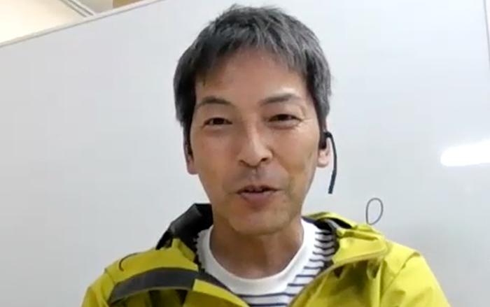 香川県の聖火ランナーを務める森田桂治さん
