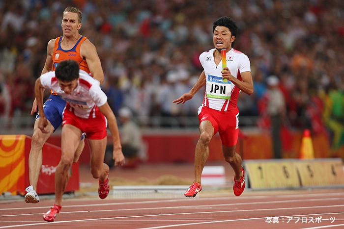 陸上競技のリレー種目では歴代初めてとなる悲願のメダルを獲得