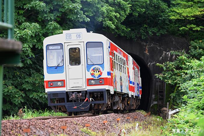 「あまちゃん」で一躍有名になった三陸鉄道