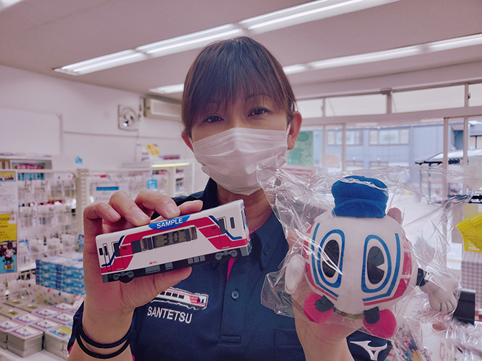 三陸鉄道の広報担当 三河和貴子さん 前職は歯科衛生士だった