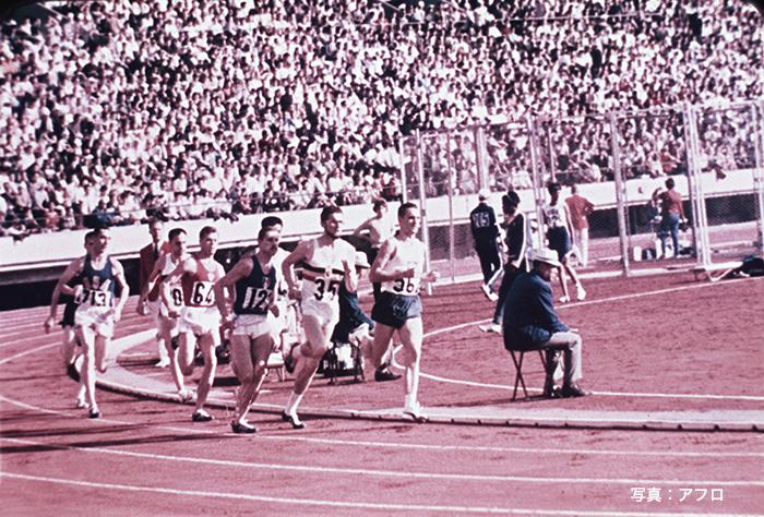 1964年 東京五輪 陸上男子