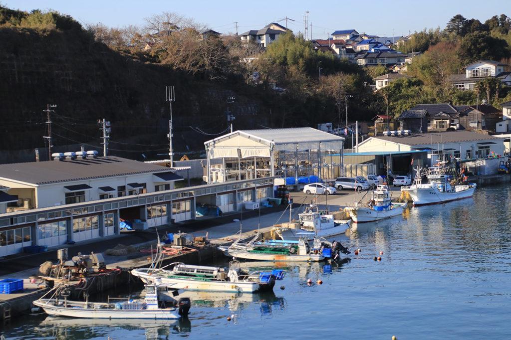 七ヶ浜の漁港