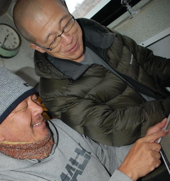 米倉氏(左)と和田教授