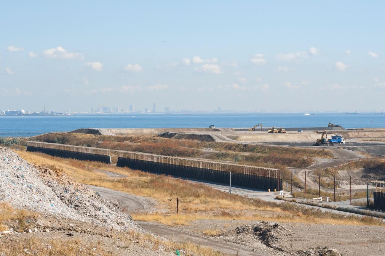 現在の東京湾にある新海面処分場