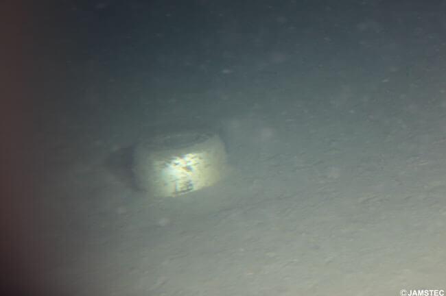 (C)JAMSTEC なべ / 相模湾 初島南東沖 潜航:2011/04/07 撮影:有人潜水調査船「しんかい6500」