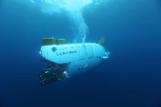 (C)JAMSTEC 世界中の深海を調査する有人潜水調査船「しんかい6500」