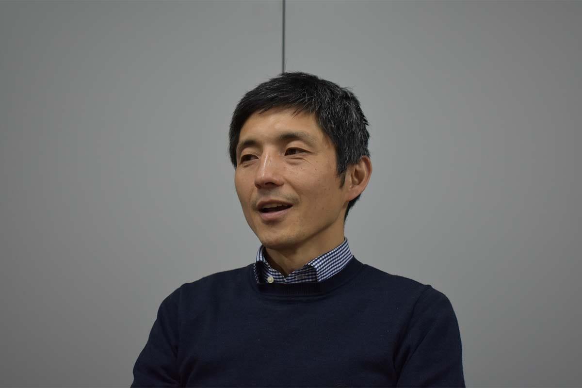 東港金属の福田隆社長