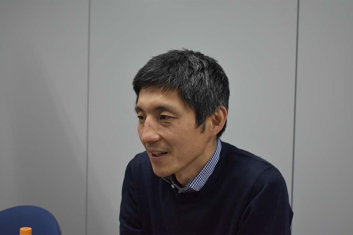ReSACOについて説明する福田隆社長