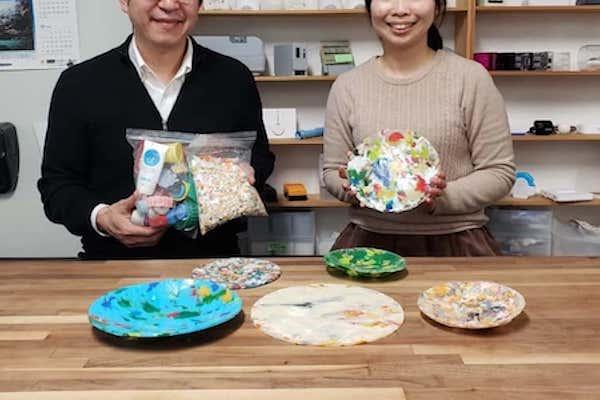 海洋プラごみから生まれた工芸品「buøy」が問いかける、プラスチックの価値