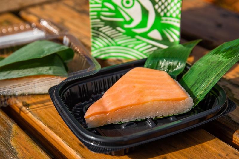 ます寿司1キレの画像