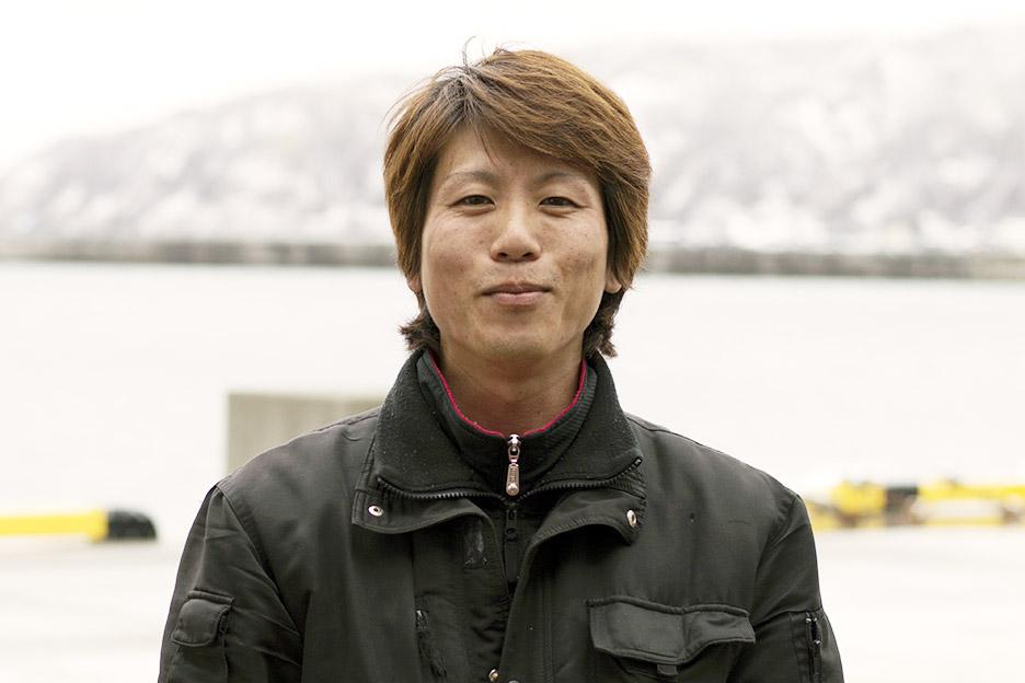 漁師の本島 将光さん