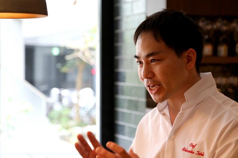 予約のとれない人気店『シンシア』のシェフ、石井真介さん