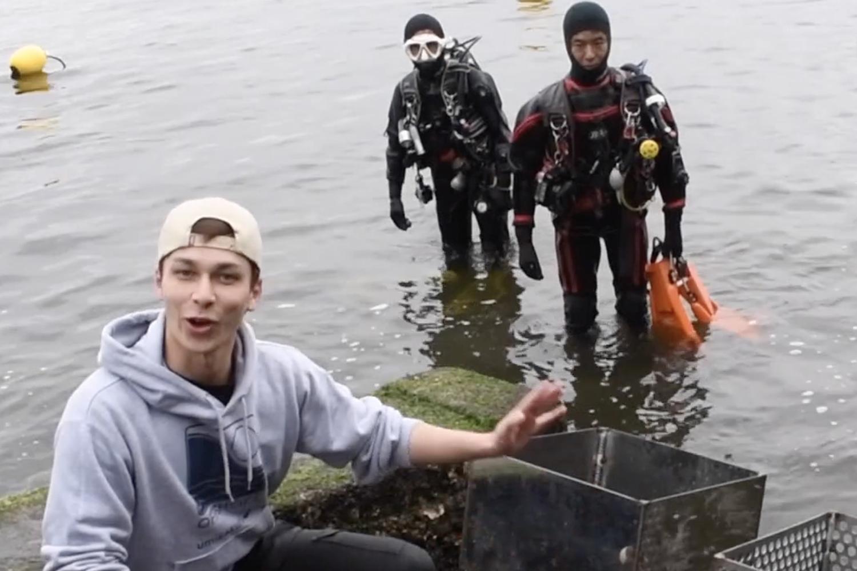 海森モリTV 第8話:波浪対策1号・2号を海に設置 2代目アマモを植える