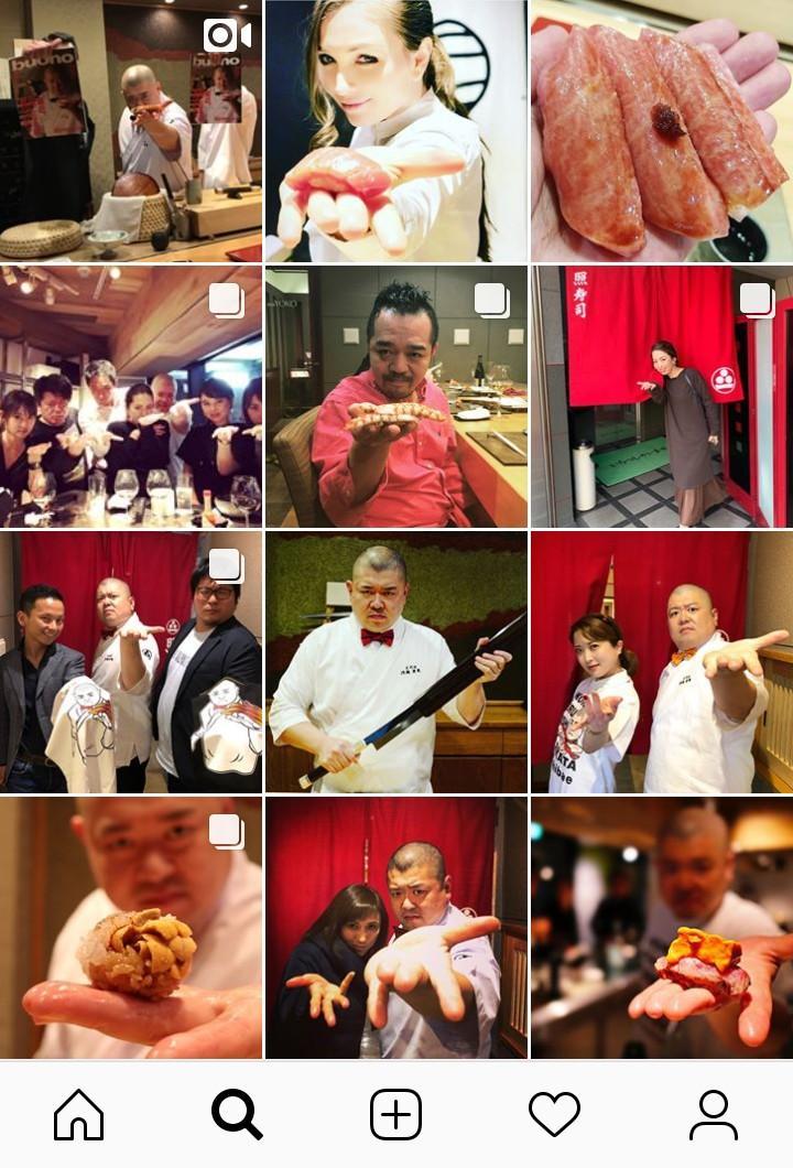 照寿司のインスタグラム