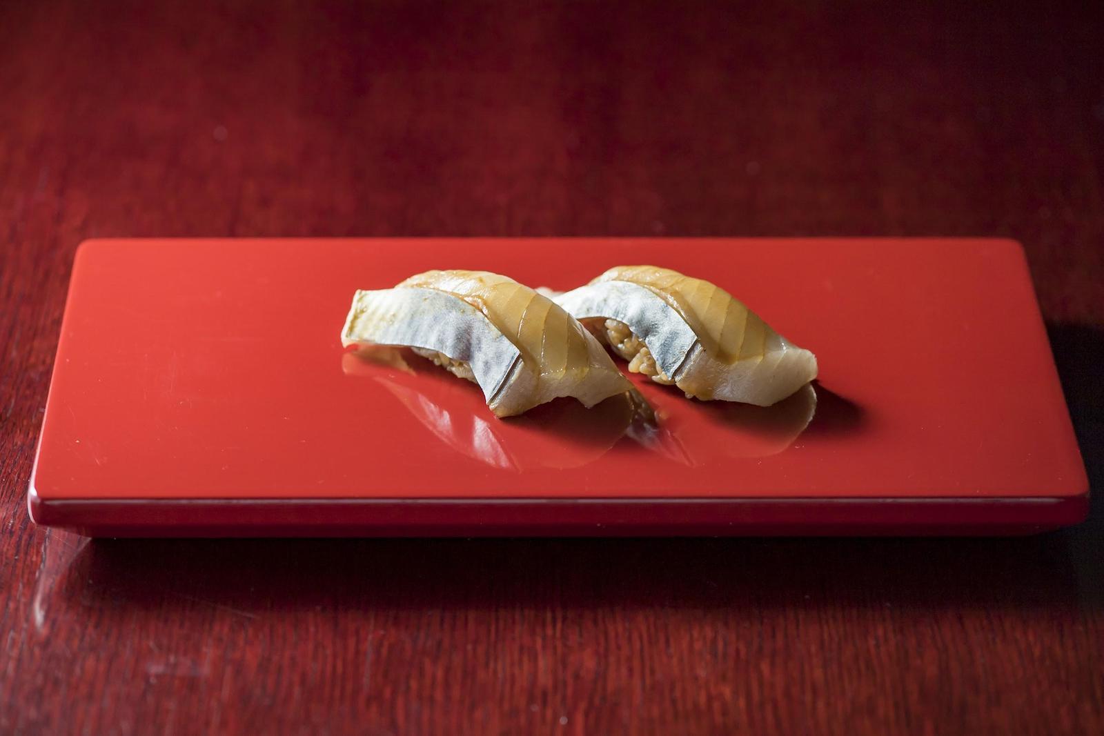 サワラの握り寿司完成