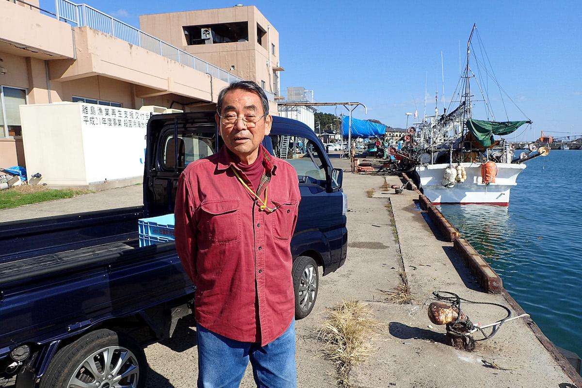 中川漁業代表の中川定雄さん