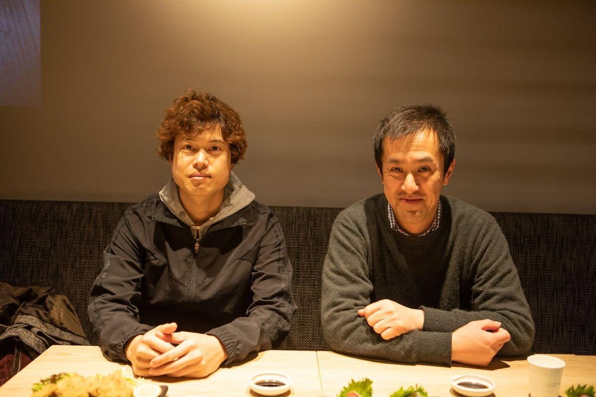 鍵谷 能成さん(かぎたに よしまさ)さんと上田さん
