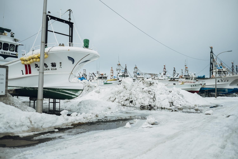 常呂漁港の写真