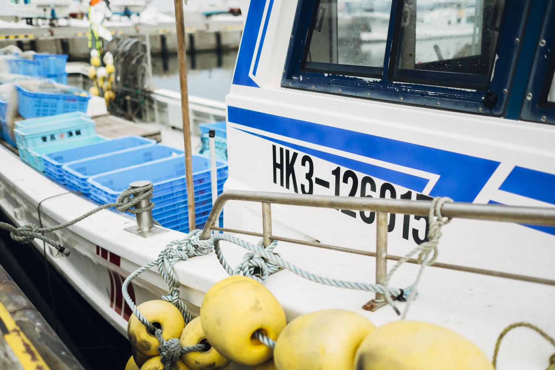 漁船の写真