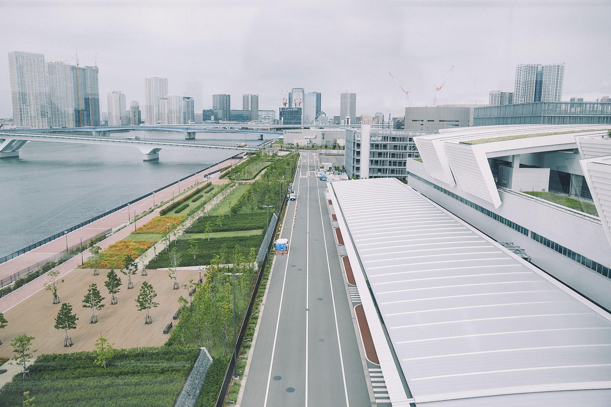 豊洲新市場のイメージ図