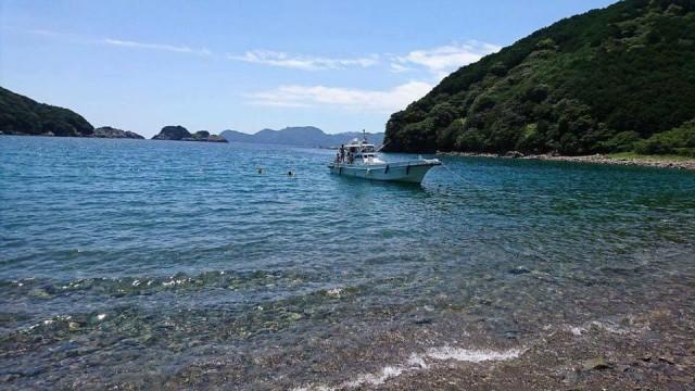 三重県尾鷲市須賀利町の海の写真