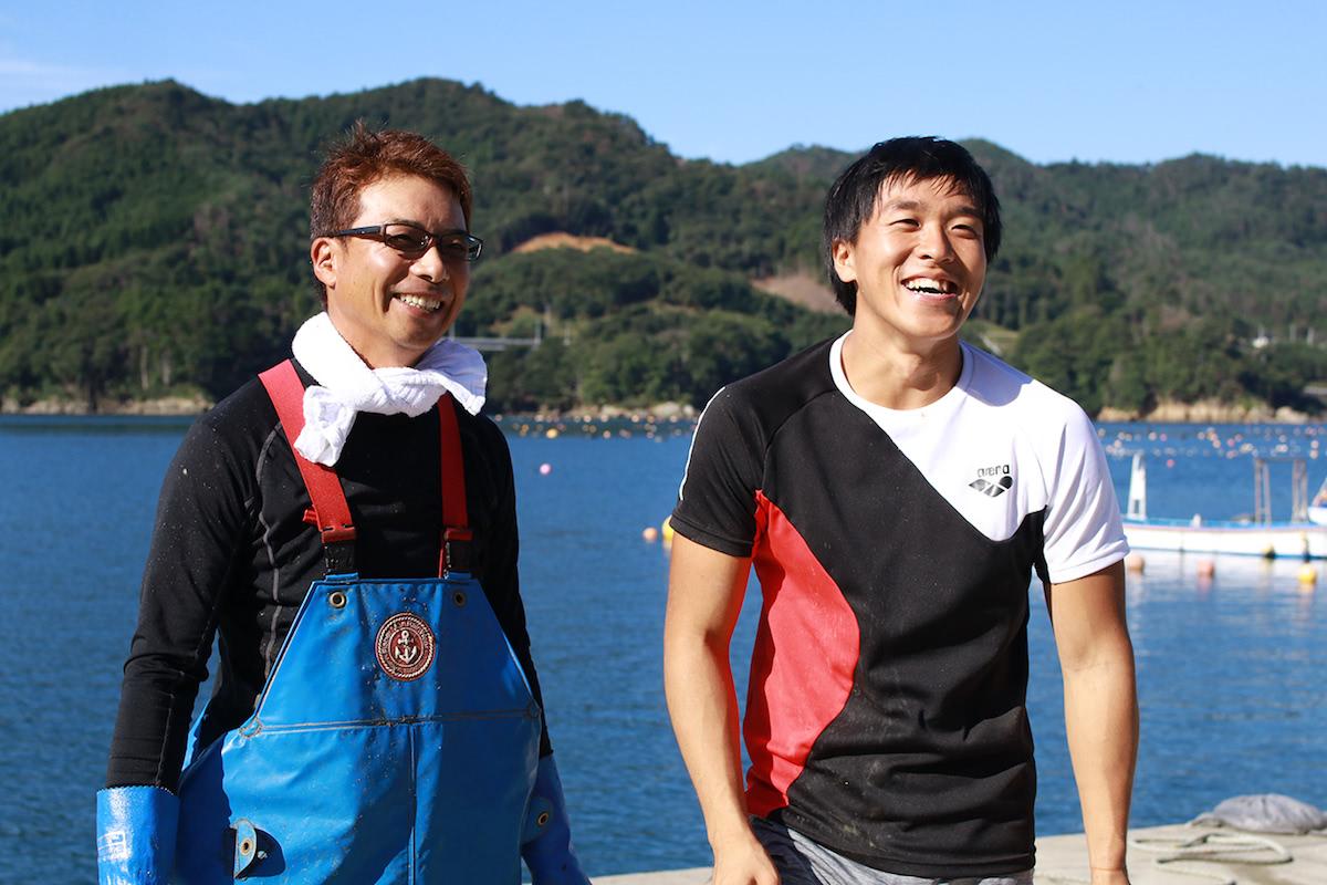 佐藤さんと三浦さんの師弟コンビ