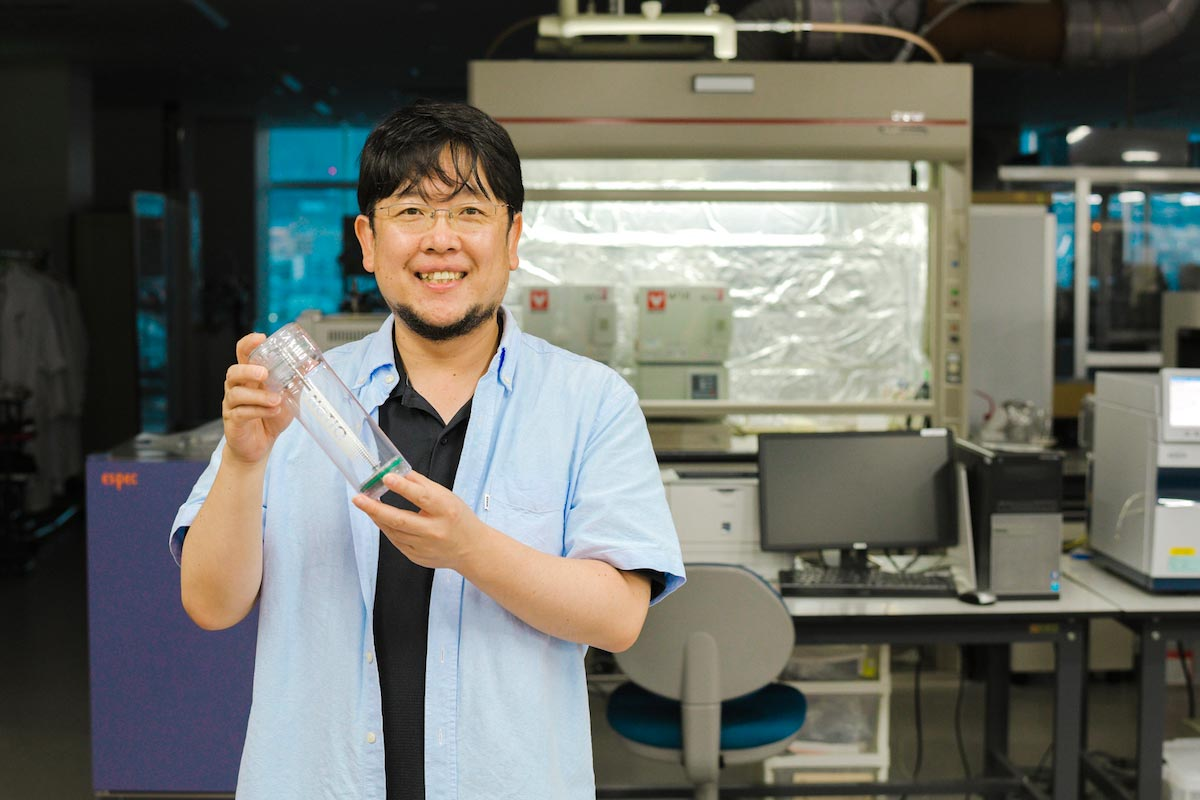 誰でもつくれる''結晶''が、地球環境を救う?「信大クリスタル」が水問題に解を出す