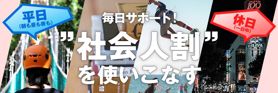 大特集(サラリーマンの平日と休日)