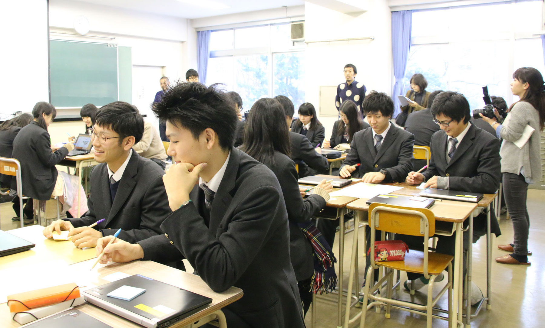 東京都立高島高校イベントレポート