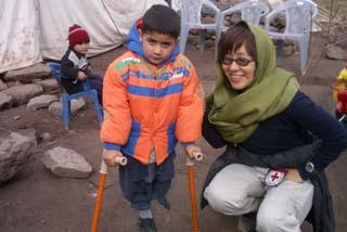 [日本赤十字社 活動資金への協力]の画像