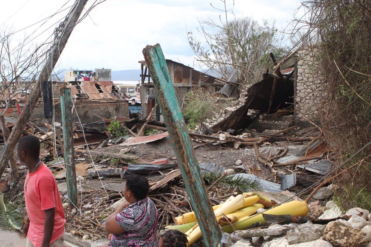 【2016年ハイチハリケーン救援金】温かいご支援をお願いいたします。
