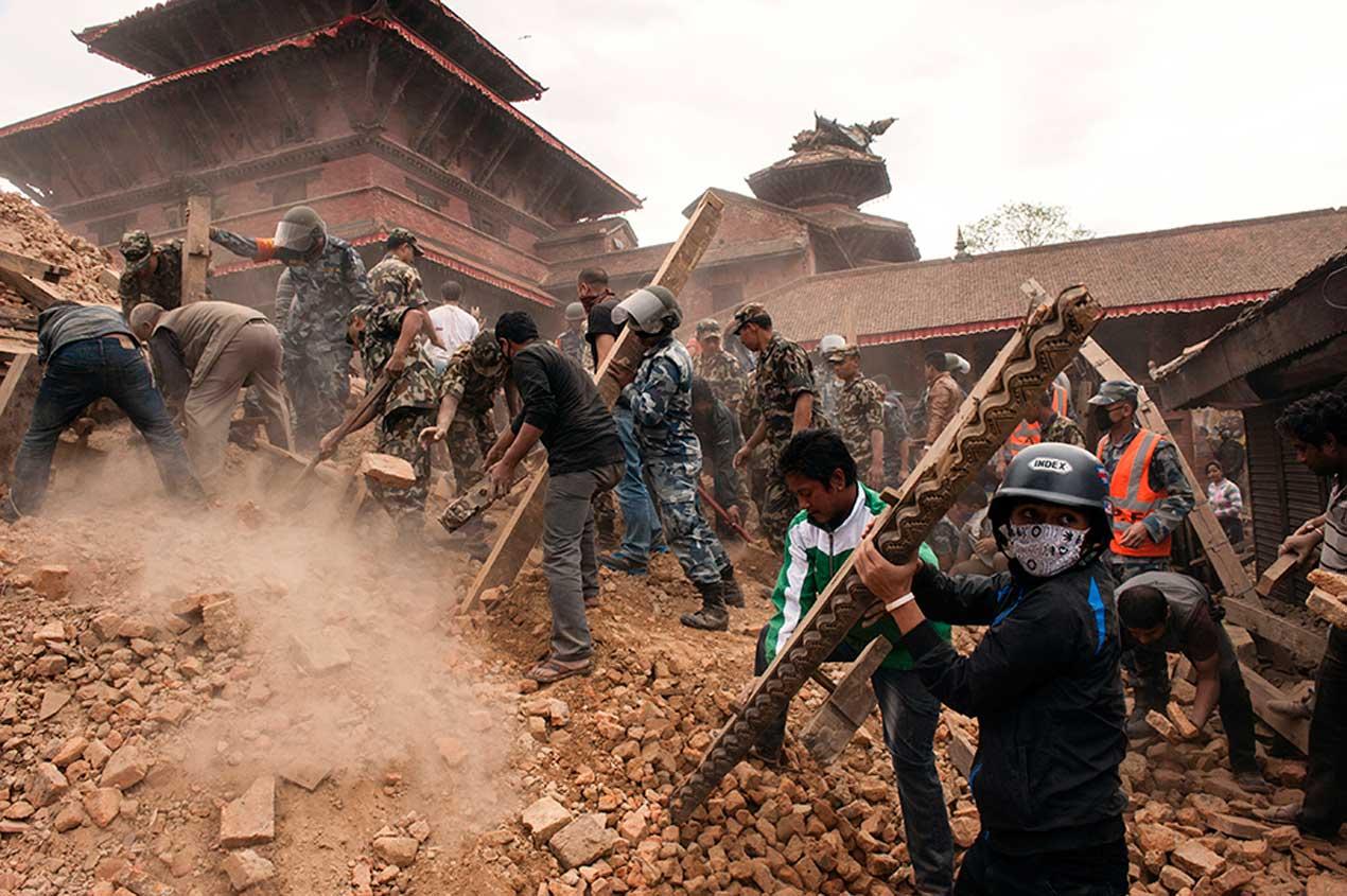 [ネパール 地震被害緊急支援募金]の画像