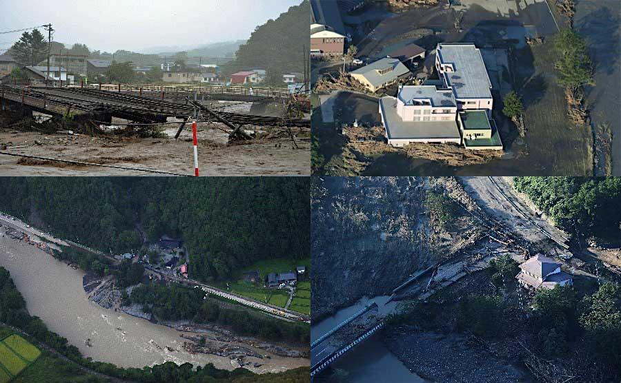 Yahoo!基金】2016年台風10号被害...