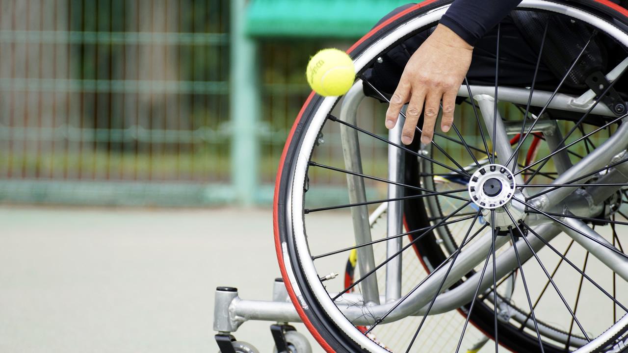 [世界でたたかう日本の車いすテニスをもっと普及したい!]の画像