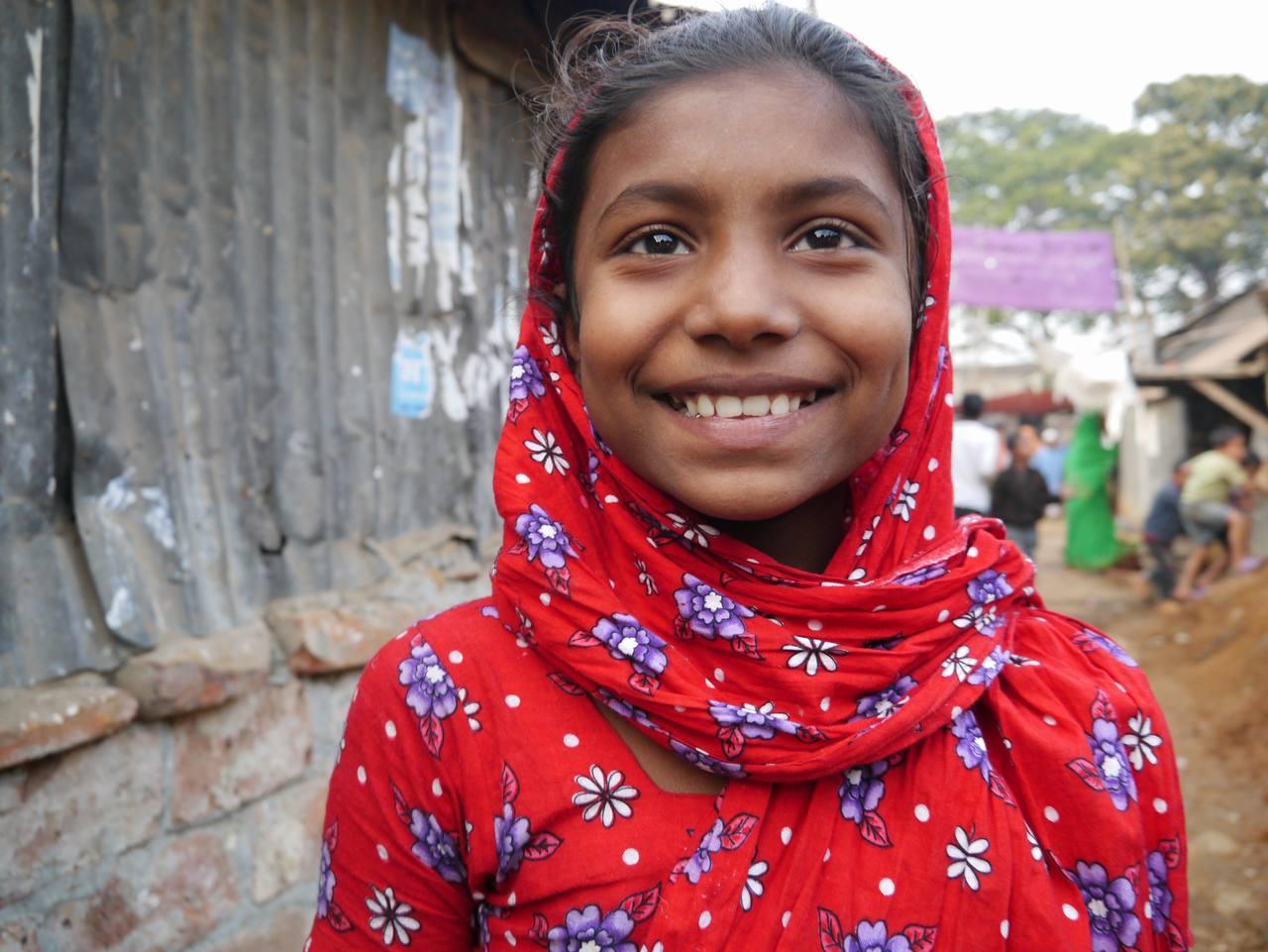 [バングラデシュで家事使用人として働く女の子に子どもらしい時間を!]の画像