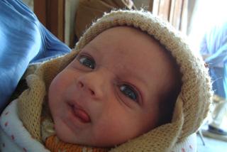 診療所で生まれた赤ちゃん
