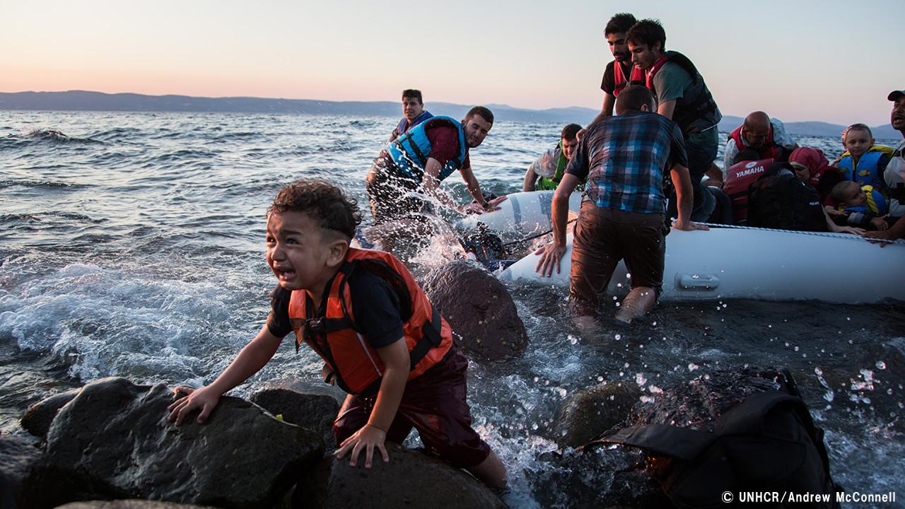 [ヨーロッパ・地中海危機 難民緊急募金(国連UNHCR協会)]の画像